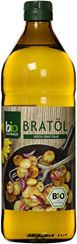 biozentrale Bratöl hocherhitzbar Bio Vegan, 3er Pack (3 x 750 g)