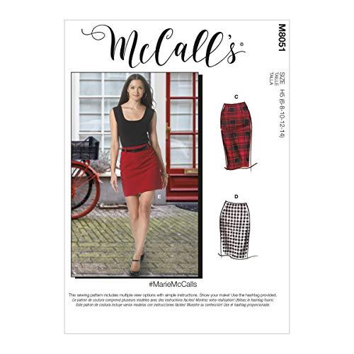 McCalls wzór M8051R5 spódnice ołówkowe Misses
