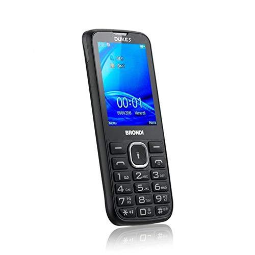 Brondi Duke S Telefono Cellulare, Nero