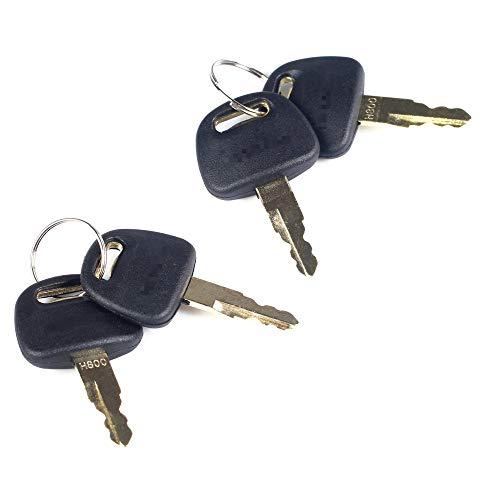 BAAQII 4 Stück Ersatzschlüssel für Hitachi & Hitachi Zax Bagger