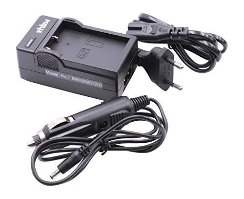 vhbw Cargador Compatible con Nikon EN-EL9, EN-EL9a, MH-23 batería de cámara - Soporte