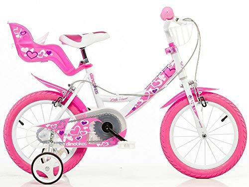 DINOBIKES Bicicletta 14' 24 Girl 144RN