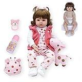 Nuevo 48/60 cm Hecho a Mano Reborn Baby Doll Vinilo de Silicona Suave Adorable Realista bebé niña Bebe Reborn muñeca niño Princesa niña muñeca