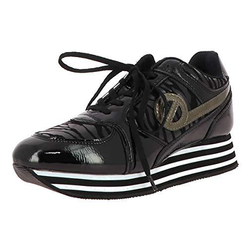 No Name Parko Jogger Zapatillas Moda Mujeres Negro - 38 - Zapatillas Bajas