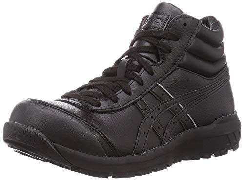 [アシックス] ワーキング 安全靴/作業靴 ウィンジョブ CP701 JSAA A種先芯 耐滑ソール 天然皮革 fuzeGEL搭載 ブラック/ブラック 26.0