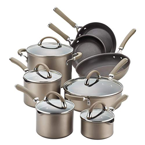 Our #6 Pick is the Circulon Premier Professional Stainless Steel 13-Piece Cookware Set