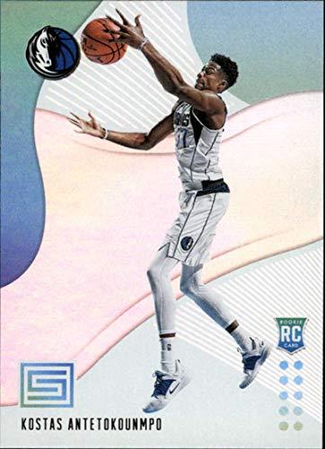 2018-19 Panini Status #139 Kostas Antetokounmpo RC Rookie Dallas Mavericks NBA Basketball Trading Card