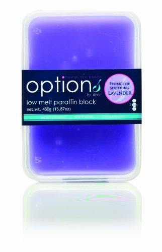 Hive Options - Bloque de parafina con aroma de lavanda, se funde lentamente (450 gramos)