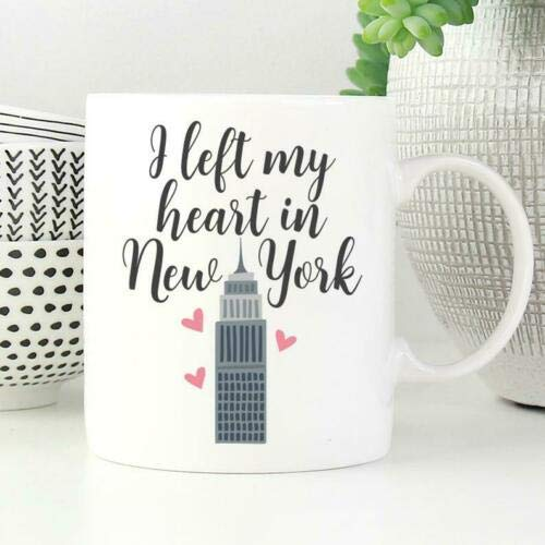 LETE You will always be my best gift I Left My Heart in New York Mug New York- 11OZ Coffee Mug