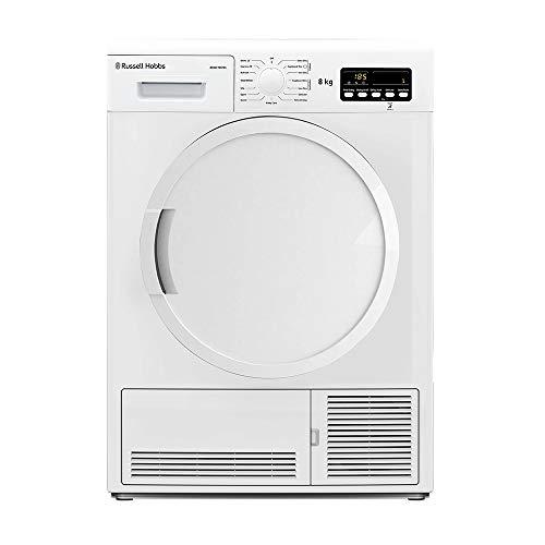 Russell Hobbs RH8CTD701 8KG Condenser Sensor Tumble Dryer, White