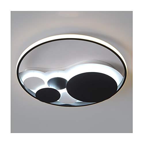 SOARLL Plafonnier Moderne Mode (Métal Acrylique LED Dimmable) Salon Décor Chambre Chambre Salle à Manger Cuisine Étudier Plafonniers (Color : Natural light-52/58W)