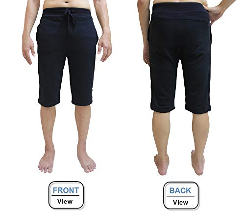 YogaAddict Men Yoga Shorts, Comfortable Pants, For Any Yoga, Pilates, Outdoor