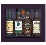 Midleton Single Irish Pot Still Whiskey Miniatures Gift Set, 4 x
