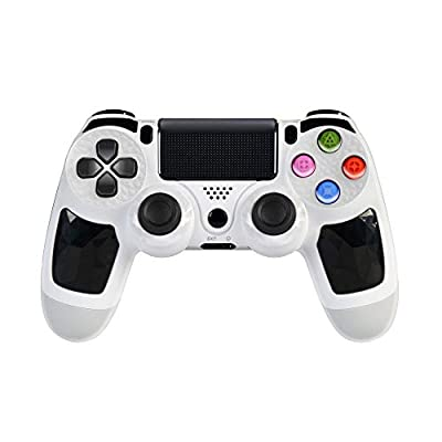 PS4 Controller Wireless Bluetooth Gamepad for Playstation 4 Clickable Touch Panel Joypad – Joystick with Sixaxis,Compatible with All PS4 Models & PC