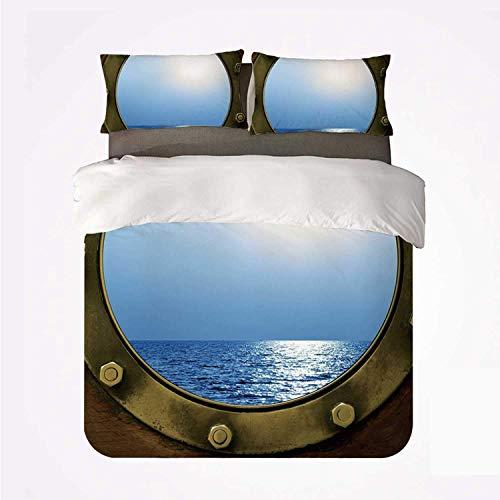 Océano pacífica Vista al mar Desde la Ventana Circular de
