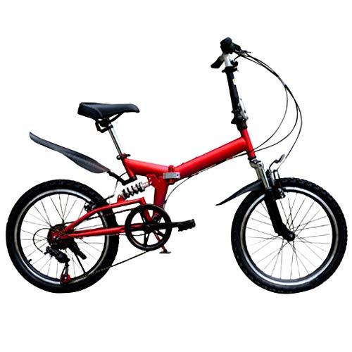 20 Zoll Mountainbike, Erwachsenen Jugend Hardtail MTB, Rahmen aus Kohlenstoffstahl, Vollfederung Mountain Bike,21 Speed Kinderfahrrad Mountainbike
