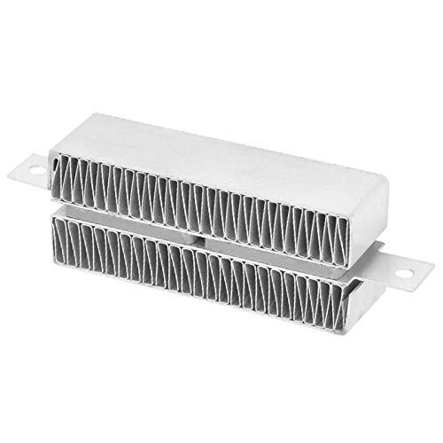 Calefacción PTC ondulada, Termostato automático Calefacción PTC termostática conductiva, Calefacción PTC automática para calentador de generador de vapor Calentamiento de(24V 50W)