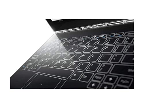 """2017 Newest Lenovo Yoga Book 10.1"""" FHD Touch IPS 2-in-1 Convertible Tablet PC, Intel Atom x5-Z8550 1.44GHz, 4GB RAM, 64GB SSD, Bluetooth, HD Graphics, Android 6.0.1 Marshmallow OS- Gunmetal Grey"""