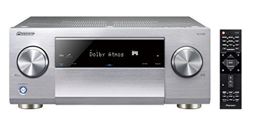 Pioneer SC-LX 501-S Class D Netzwerk AV Receiver (270W pro Kanal, WiFi und Bluetooth, Dolby Atmos, DTS X Ready, HDCP 2.2, AppControl) Silber