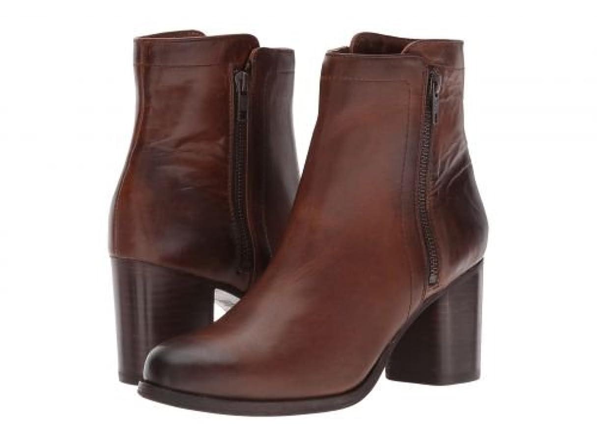 ハンバーガー製造第Frye(フライ) レディース 女性用 シューズ 靴 ブーツ アンクルブーツ ショート Addie Double Zip - Whiskey Smooth Pull-Up Leather [並行輸入品]