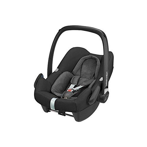 Bébé Confort Cosi Rock i-Size, Siège Auto Bébé Groupe 0+, ISOFIX, Dos à la route, Naissance à 12 mois (0-13 kg), Nomad Black (noir)