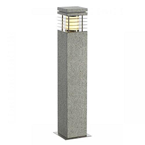 SLV - ARROCK GRANITE 70 borne granit poivre & sel E27 max 15W - 231411