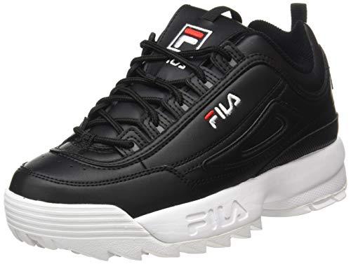 Fila Disruptor, Zapatillas, Negro (Black), 31 EU