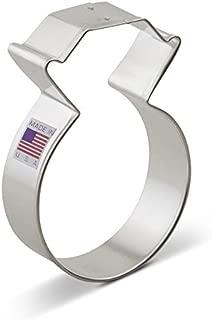 Ann Clark Cookie Cutters Diamond Ring Cookie Cutter, 3.75