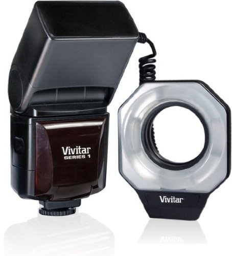 Vivitar VIV-DF-586-CAN Digital Macro Ring Flash for Canon