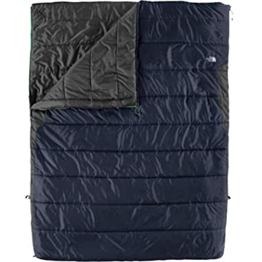 The North Face Dolomite Double 3S 20-Degree Synthetic Sleeping Bag - Deep Water Blue Long Right Hand
