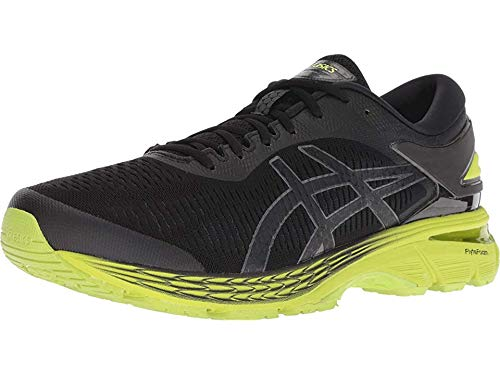 Asics Men's Gel Kayano 25 Running Shoes, Blue Lemon Spark, 42 EU/7.5 UK Size: 5 UK