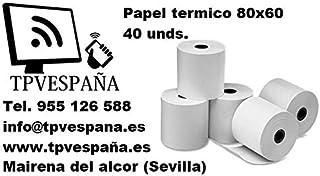 Amazon.es: rollos papel termico