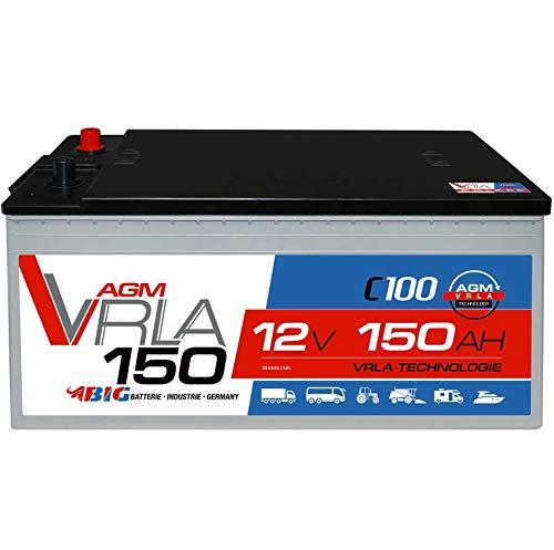 BIG AGM Solarbatterie 150Ah 12V Batterie Versorgung Caravan Boot 130Ah 140Ah GEL