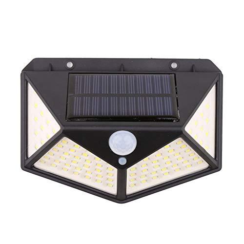Nerioya Solarleuchten Outdoor, LED-Solarsicherheits-Licht, Bewegungs-Sensor-Solarwasserdicht Solarbetriebene Licht Mit 3 Modi Für Garten, Außen,A