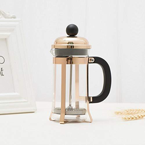 JJFU Koffie Grinders Molen Grinders Koffiemachine Plunger Thee Maker Percolator Filter Druk 350Ml Koffie Ketel Pot Glas Theepot