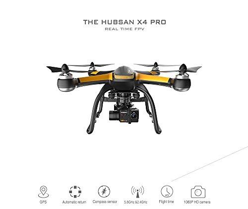Hubsan X4Pro H109S Profi Drone mit 1080p Kamera 5.8GHz RC Quadcopter Profi