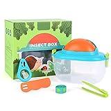 ZARQ Explorer Kit Toys para Niños, Kit Explorador Conjunto de Juguetes de Insectos al Aire Libre Captura de Insectos Caja de Observación Juguete de Regalo Educativo