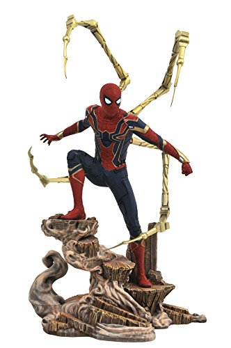 Diamond - Avengers Marvel Spider-Man Diorama, multicolor (Diamond Select Toys JUN182325)