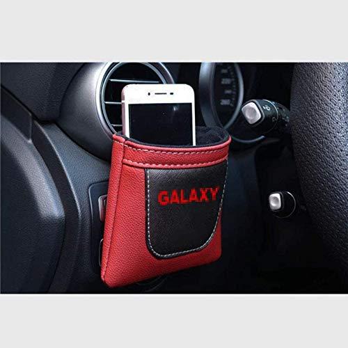 Coche Salida de aire Stow ordenado del bolso de almacenamiento for Ford Galaxy, cuero de la PU Colgando de almacenamiento caja for llaves del coche / Teléfonos móviles / Lentes / plumas, accesorios de