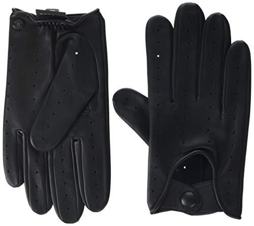 Roeckl Herren Perforated Driver Conductive Handschuhe, Schwarz (Black 000), 9.5