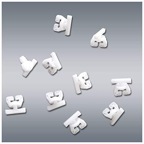 10 Stck. SeGaTeX Gardi-Stopp Uni-Feststeller für alle gängigen Innenlaufschienen