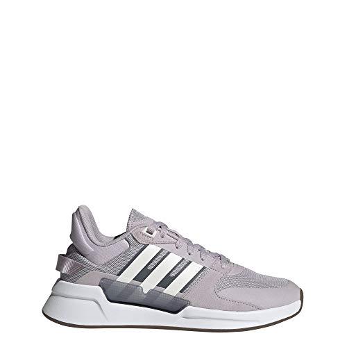 adidas Damen Run90s Laufschuhe, Malva/Ftwbla/Onix, 38 2/3 EU