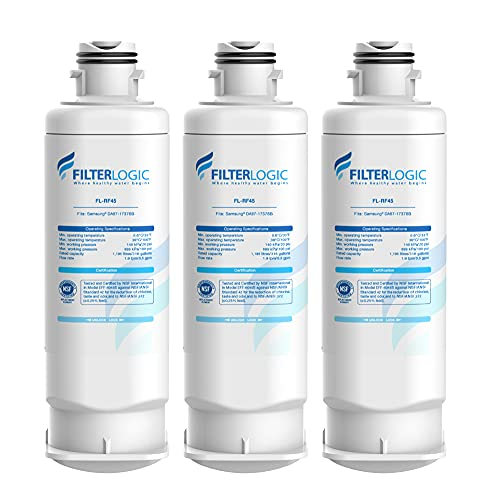 Price comparison product image Filterlogic DA97-17376B Refrigerator Water Filter,  Replacement for Samsung Genuine HAF-QIN / EXP,  DA97-17376B,  DA97-08006C