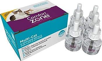 Comfort Zone Basic Multicat Refill for Cat Calming 6 Pack