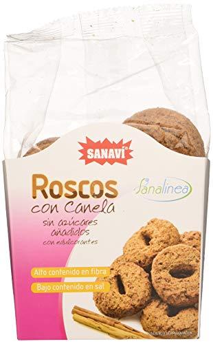 Sanavi Roscos De Canela S/A 200Gr 200 G Sin Azucar 100 g
