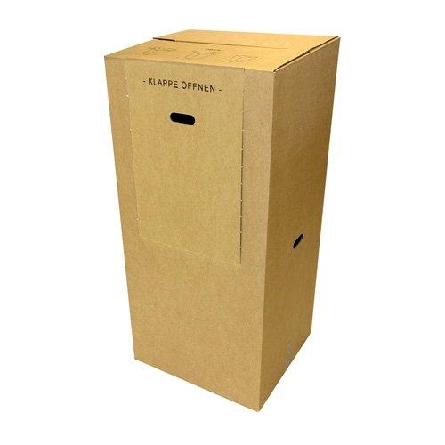2 Kleiderboxen Spedition 2.60 BC Welle 600 x 510 x 1350mm - 2