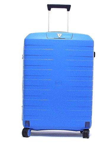 Roncato trolley viaggio, Box 5513-0118, trolley cabina quattro ruote in polipropilene, colore cielo