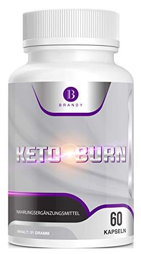 Brandy KETO BURN – Stoffwechsel – Frauen & Männer – schnell, natürliche Inhaltsstoffe – 60 Kapseln
