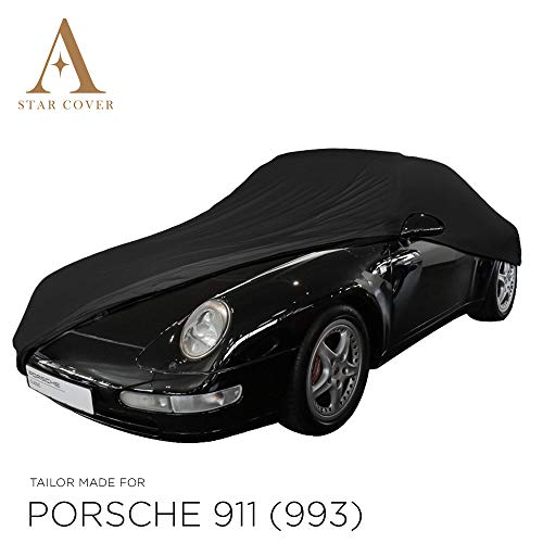 AUTOABDECKUNG SCHWARZ PASSEND FÜR Porsche 911 (993) GANZGARAGE INNEN SCHUTZHÜLLE ABDECKPLANE SCHUTZDECKE Cover