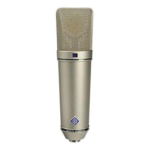 Neumann U 87 Ai Switchable Studio Microphone - Nickel Color